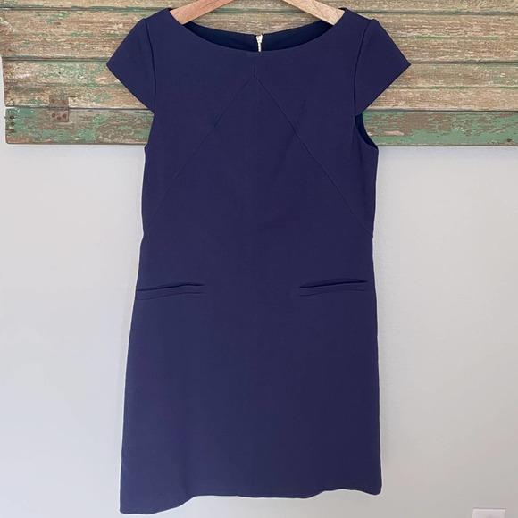 Eliza J Sheath Dress Navy Size 8